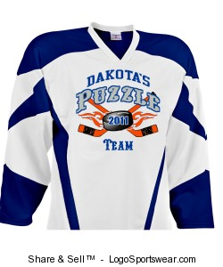 Air Mesh Deluxe Youth Hockey Uniform Jersey Design Zoom